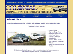 colonial west chevrolet chevy trucks